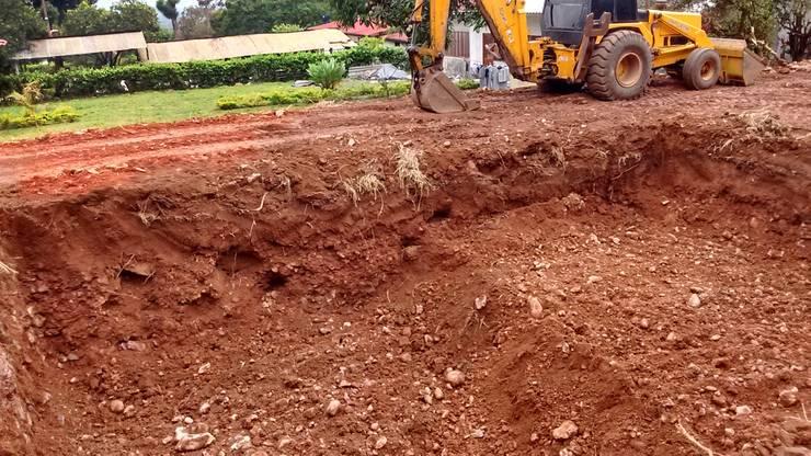 detalle excavacion de Rio Vivo Arquitectura, Taller y Diseño.