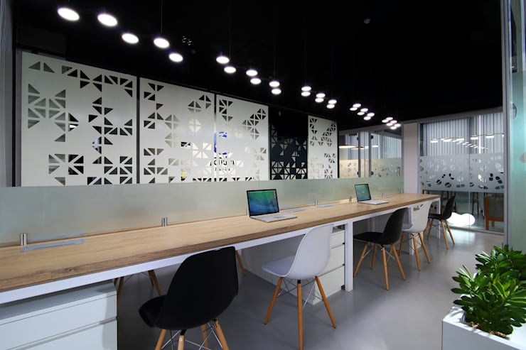 Commercial—Mulund:  Commercial Spaces by Nitido Interior design,Industrial Plywood