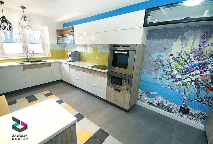 moderne Küche von ZAWOLIK DESIGN