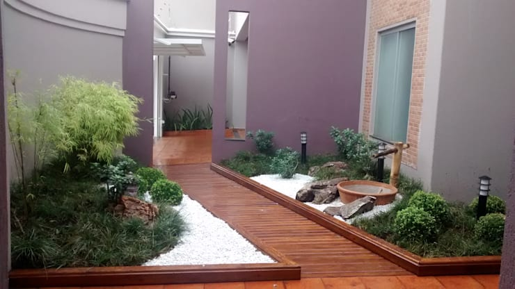 حديقة تنفيذ Borges Arquitetura & Paisagismo