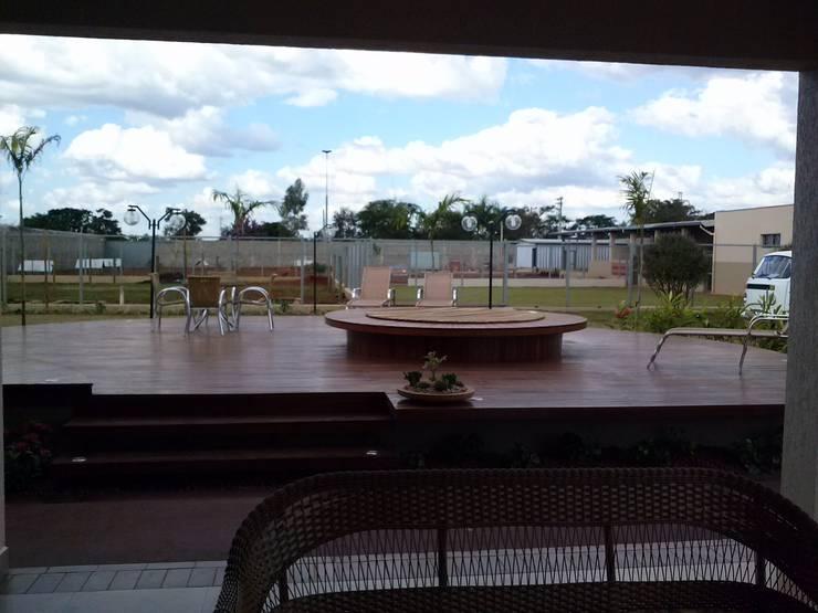 Spa de estilo  por Borges Arquitetura & Paisagismo, Tropical