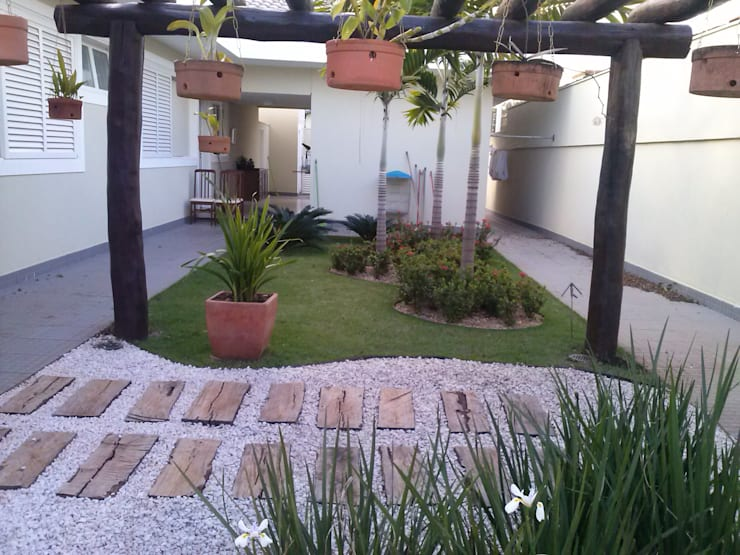 Projekty,  Ogród zaprojektowane przez Borges Arquitetura & Paisagismo