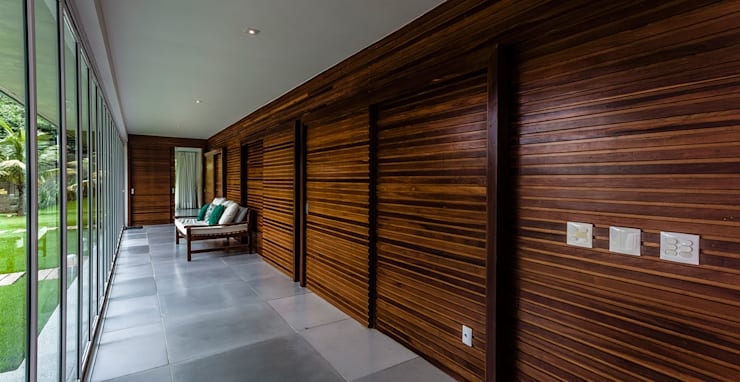 Casa de Veraneio Itu: Terraços  por Radô Arquitetura e Design