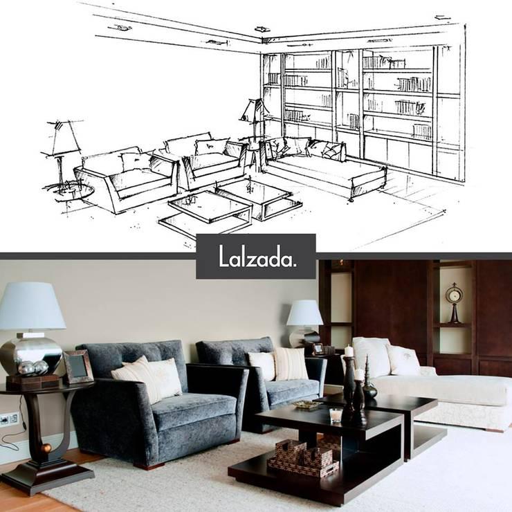 Wohnzimmer von Lalzada