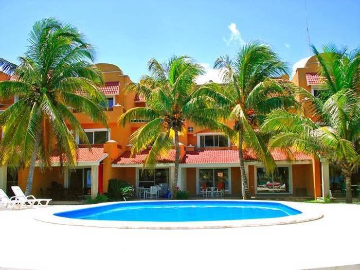 Villa en renta Semana Santa: Casas de estilo  por DESARROLLOS INMOBILIARIOS BARCAM S DE RL DE CV