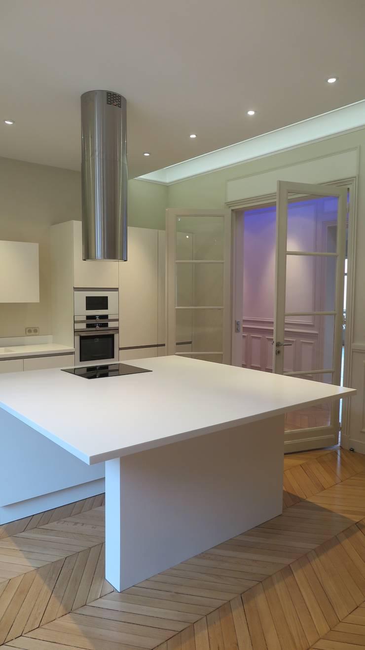 appartement haussmannien paris 16 em par philippe ponceblanc architecte d 39 int rieur homify. Black Bedroom Furniture Sets. Home Design Ideas