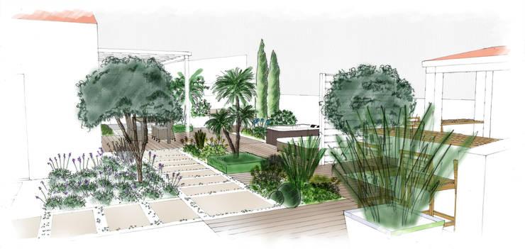 jardin méditerranéen par Atelier Aralia | homify