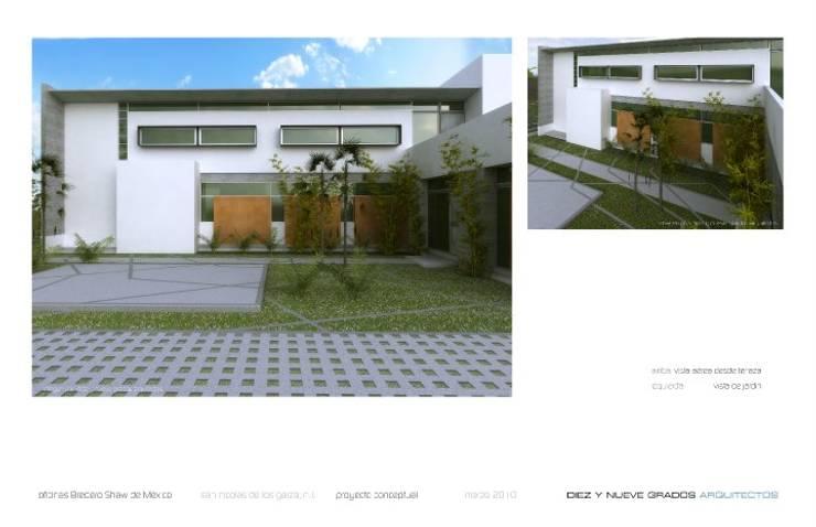 de estilo  por Diez y Nueve Grados Arquitectos,