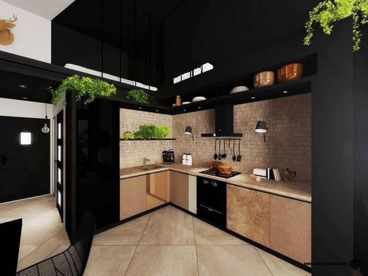 Kitchen by Hanna Szczypińska - Architektura Wnętrz