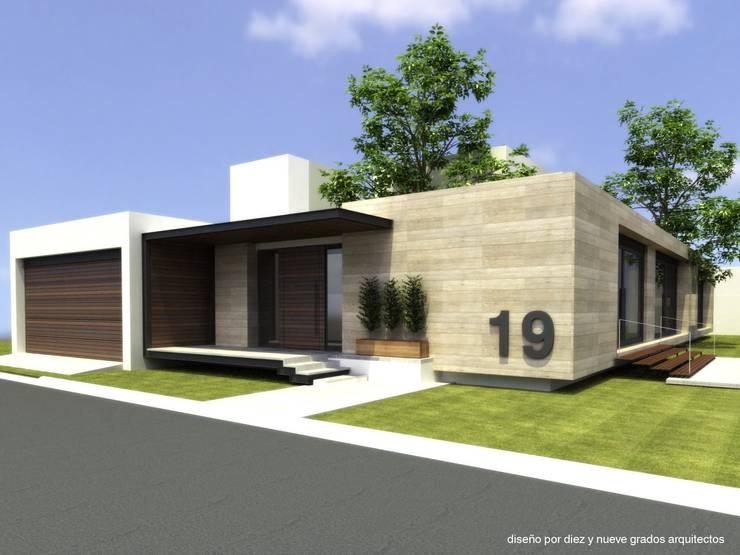 Projekty,   zaprojektowane przez Diez y Nueve Grados Arquitectos