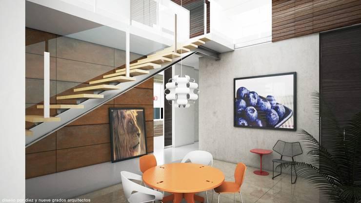 Desayunador:  de estilo  por Diez y Nueve Grados Arquitectos