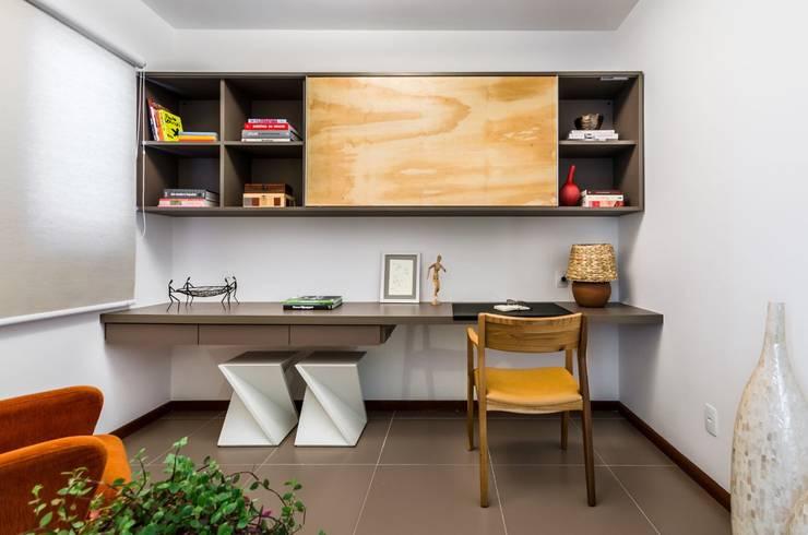 Escritório - Projeto Santa Clara: Escritórios  por LS ARQUITETURA