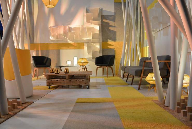 Pabellon Tendencias Habitat 2015 de BCA Arch and Interiors Moderno