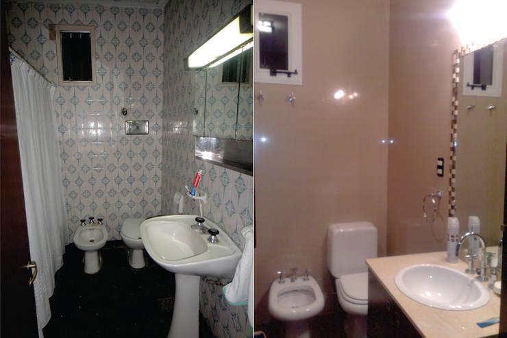 Reformas Vivienda en Tafi Viejo: Baños de estilo  por D&D Arquitectura