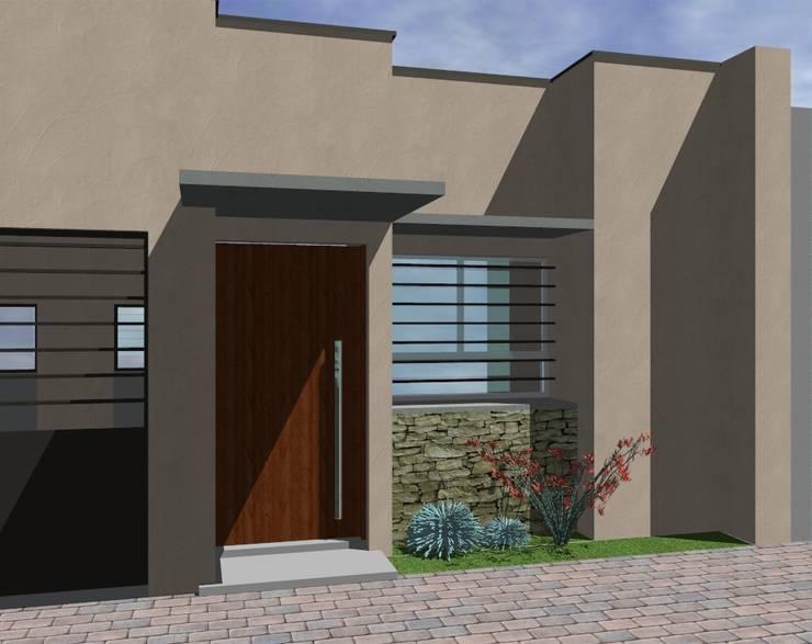 Remodelaciòn Vivienda Barrio Feput Casas modernas: Ideas, imágenes y decoración de D&D Arquitectura Moderno