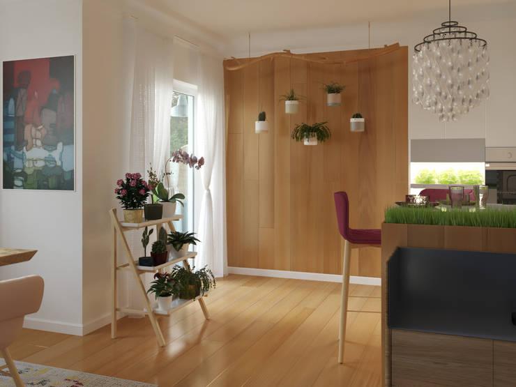 3D render - kitchen: Cocinas de estilo  por 3Deko