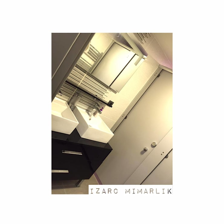 İZARC MİMARLIK – CROWE HORWATH FINANCIAL CONSULTANT OFFICE PROJECT:  tarz Banyo