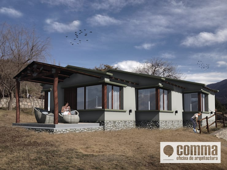 Дома в . Автор – Comma - Oficina de arquitectura