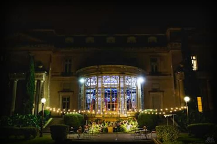 Luces de kermes: Jardines de estilo  por Algo de Mi