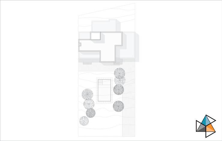 CASA ARN: Casas de estilo  por Trecon Arquitectura e Ingeniería,