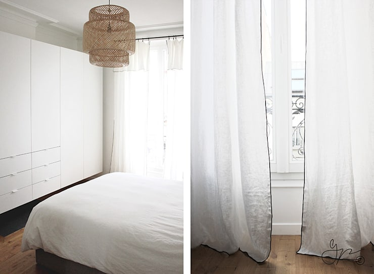 LE PETIT NID DE G.: Chambre de style de style Moderne par Gwladys PARRA