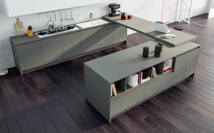 Avantgarde - Atra: Cucina in stile in stile Moderno di Atra Cucine