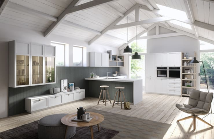scandinavian Kitchen by Dibiesse SpA