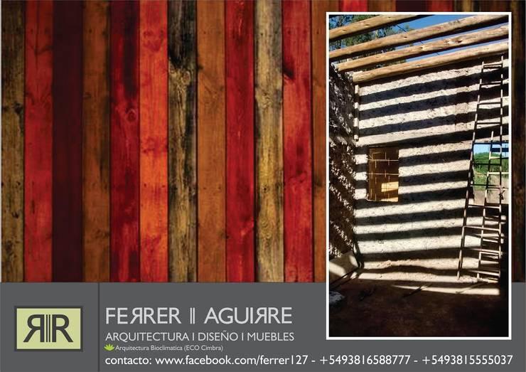"ARQUITECTURA BIOCLIMATICA ""ECO CIMBRA"":  de estilo  por FERRER||AGUIRRE ARQUITECTURA+DISEÑO+MUEBLES"