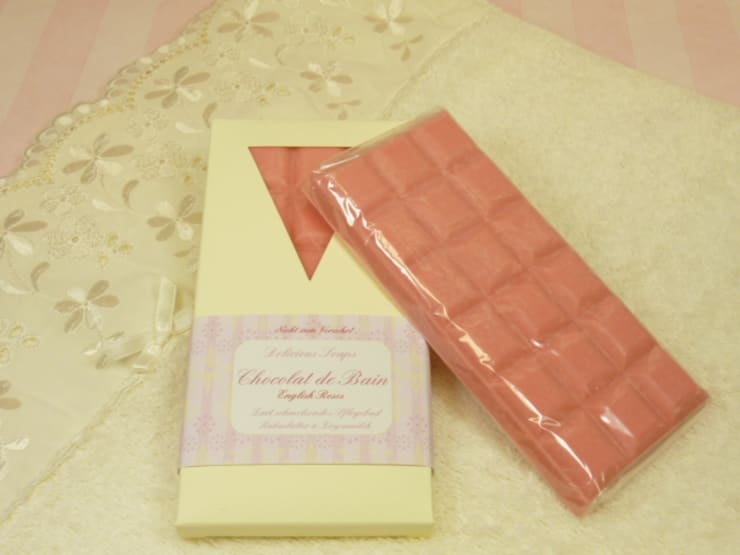 Badeschokolade Roses von Delicious Soaps Seifenmanufaktur Klassisch