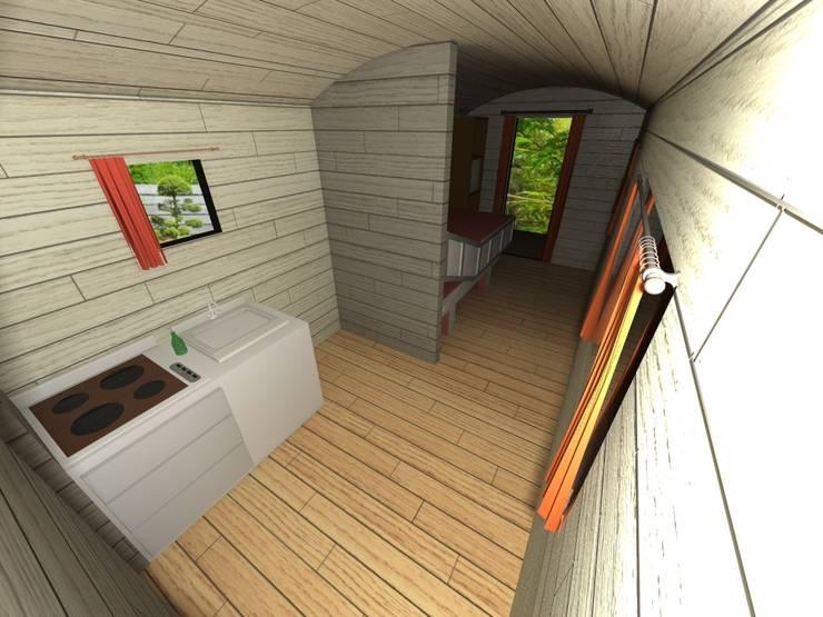 roulotte senior par jardin boheme homify. Black Bedroom Furniture Sets. Home Design Ideas