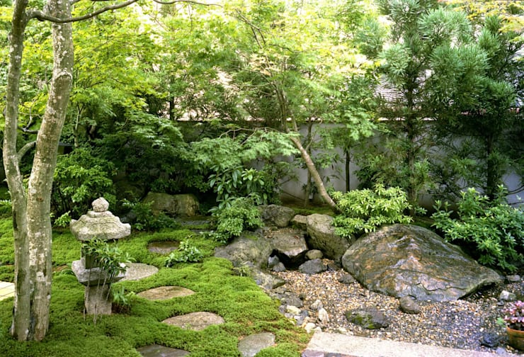 Vườn by Enatsu Garden Architect / 江夏庭苑事務所
