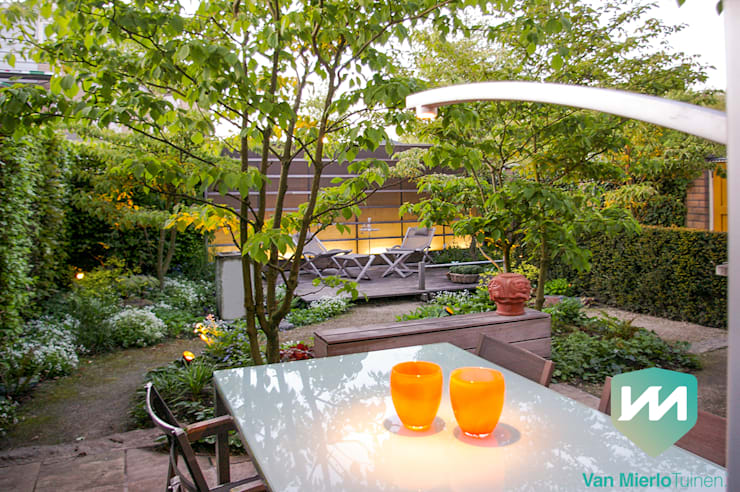 Jardines de estilo escandinavo por Van Mierlo Tuinen | Exclusieve Tuinontwerpen