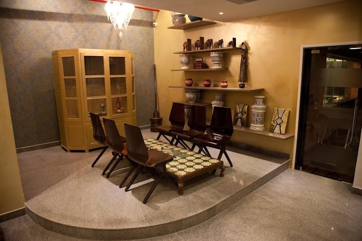 Gallery:  Walls & flooring by Uncut Design Lab