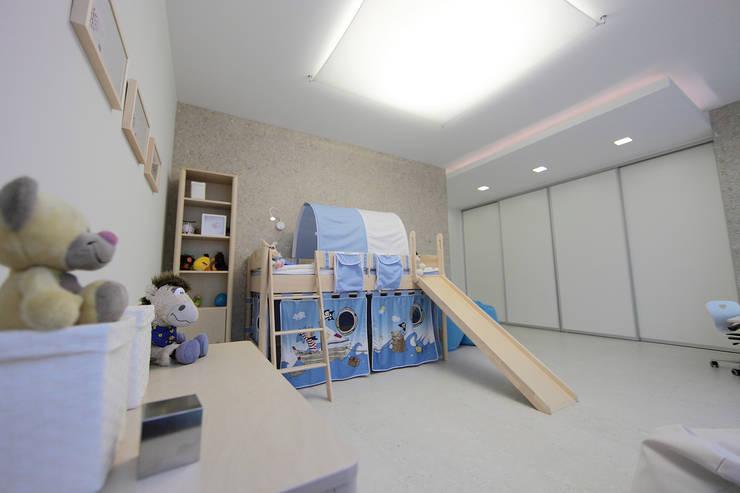 غرفة الاطفال تنفيذ nadine buslaeva interior design