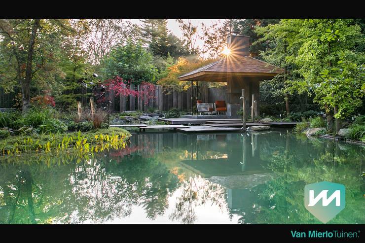 Jardins  por Van Mierlo Tuinen | Exclusieve Tuinontwerpen , Asiático