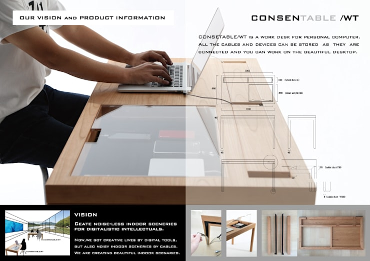 VISION & PRODUCT INFORMATION: CONSENTABLEが手掛けたオフィス&店です。
