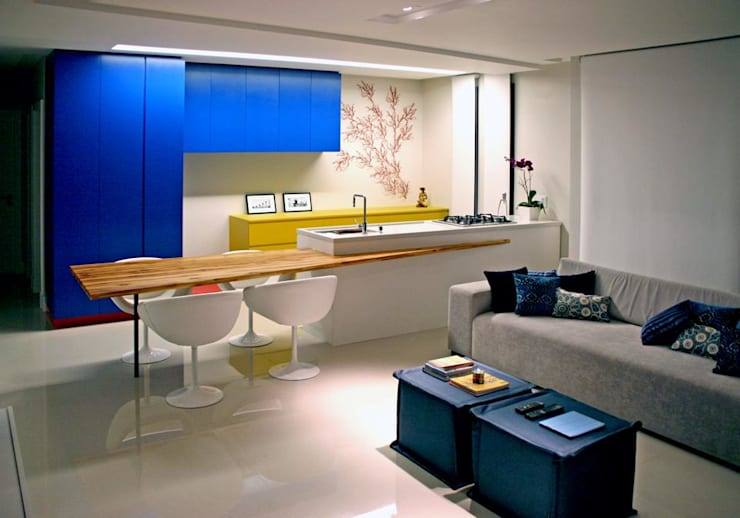 Comedores de estilo  por duse arquitetura.engenharia