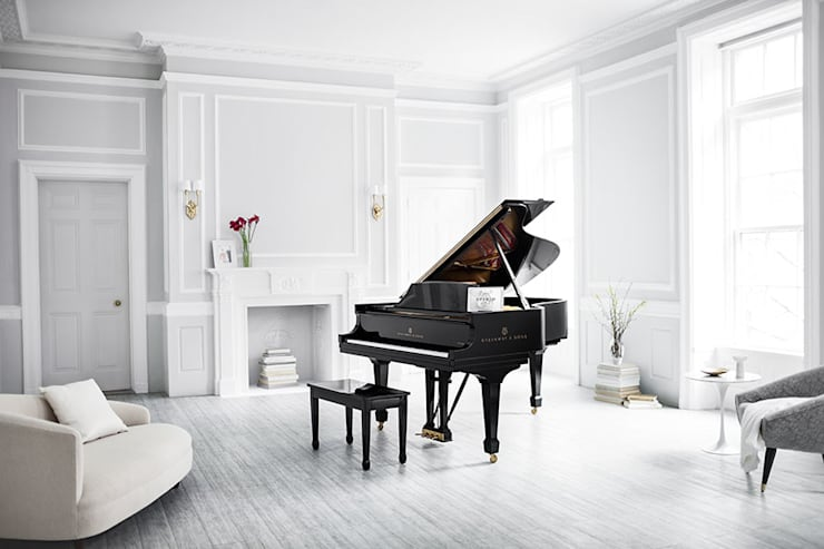 Multimedia room تنفيذ Steinway & Sons