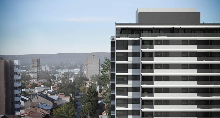 Vista Edificio Gemma2 Casas modernas: Ideas, imágenes y decoración de Akros S.R.L. Moderno