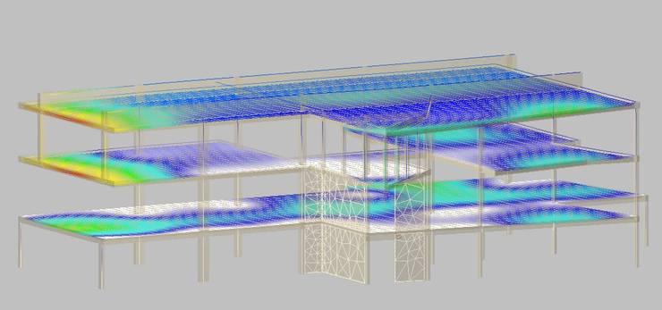 Deformada Estructural en Z:  de estilo  por Innovare