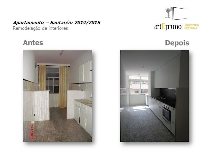 Arteprumo: Cozinhas  por Arteprumo, LDA