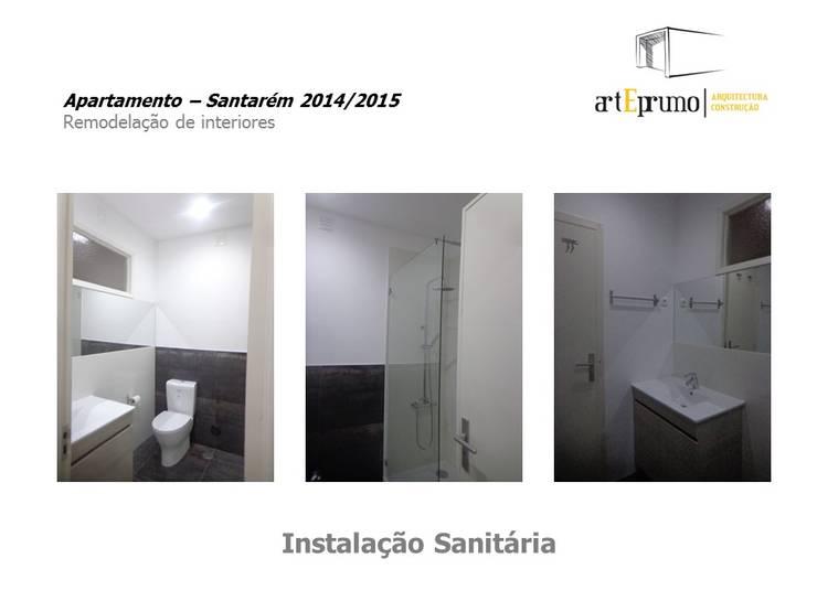 Arteprumo: Casas de banho  por Arteprumo, LDA