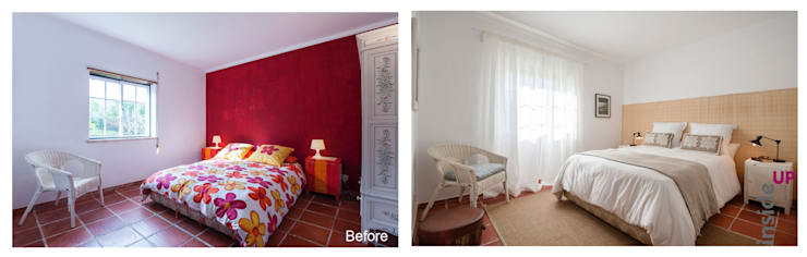 country Bedroom تنفيذ homify