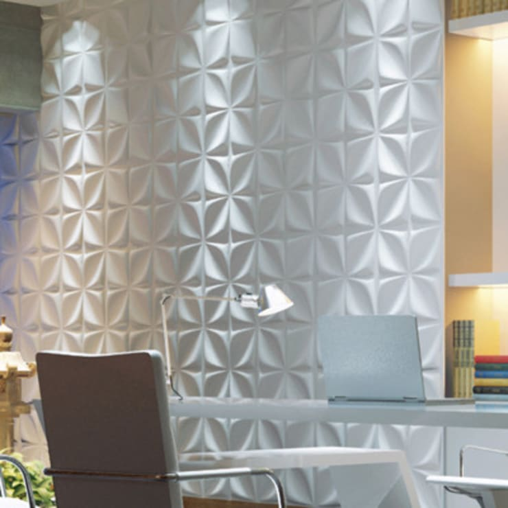 Paneles 3d : Paredes de estilo  por dekora2013, Moderno Bambú Verde