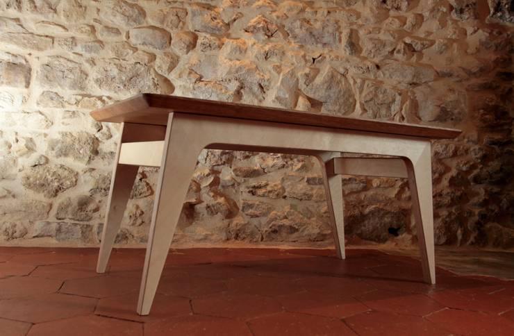 Guesdy: Salle à manger de style  par Olivier Corbin Design