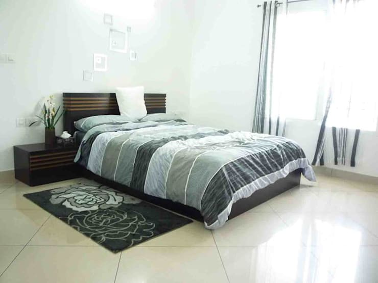 SHOBHA INTERIORS THRISSUR:  Bedroom by DREAM INFINITE