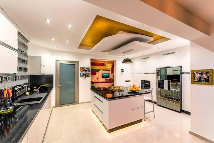 Şölen Üstüner İç mimarlık – RBK evi Lapta/ Girne: modern tarz Mutfak