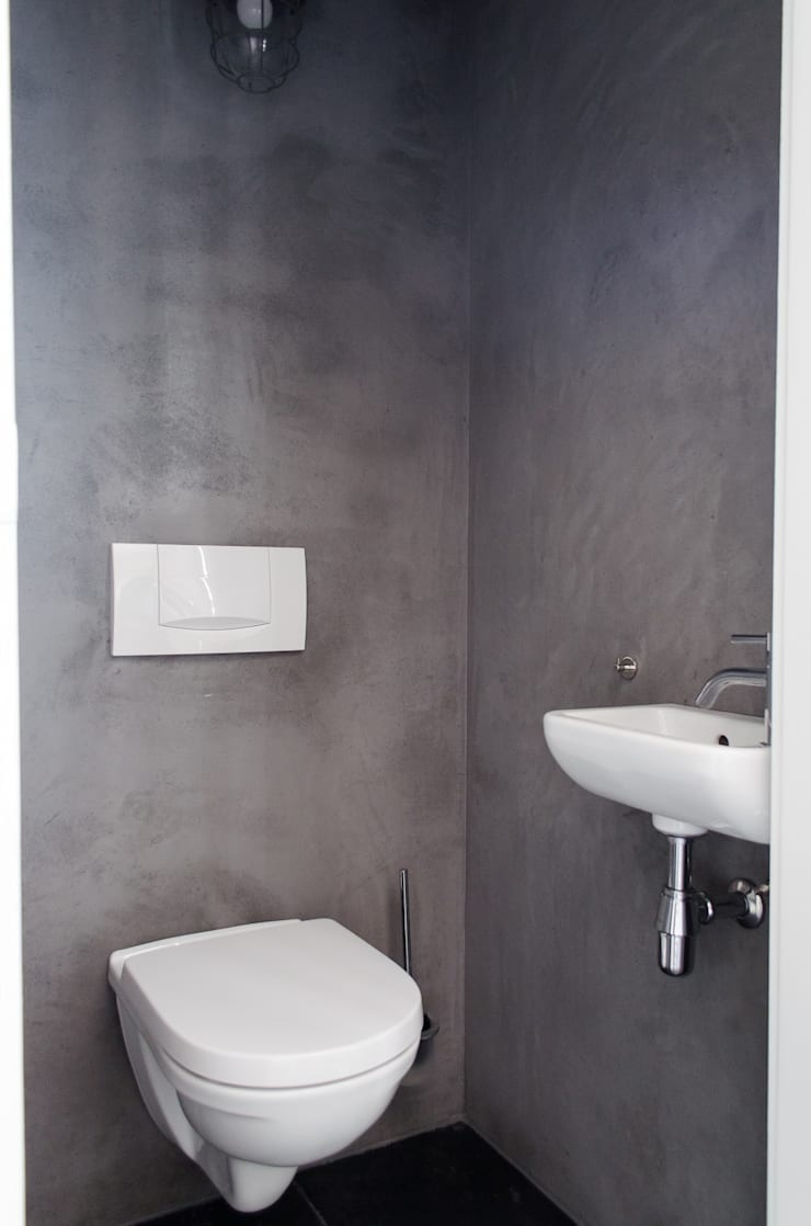 Badkamer:  Badkamer door Mignon van de Bunt Interieurontwerp, Styling & Realisatie