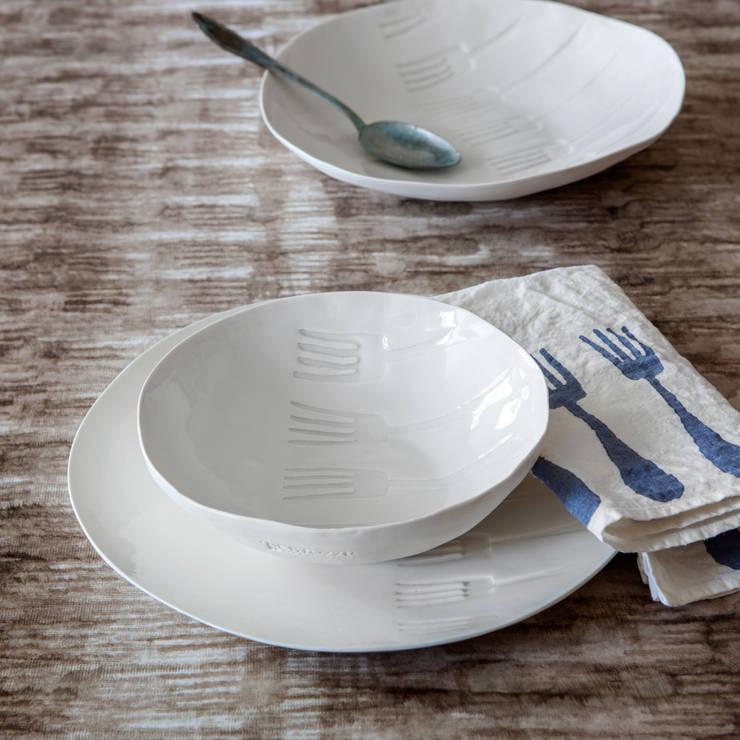 Servizi di porcellana stampata: Cucina in stile in stile Moderno di Stamperia Bertozzi