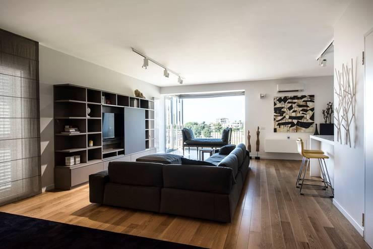 غرفة المعيشة تنفيذ Laboratorio di Progettazione Claudio Criscione Design